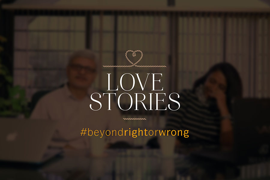 beone love stories: chalk and cheese maitreyee and mahendra vakharia